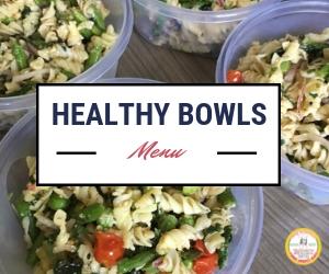 healthy bowls menu