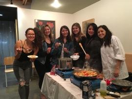 Gnocchi class, Beverly Hills