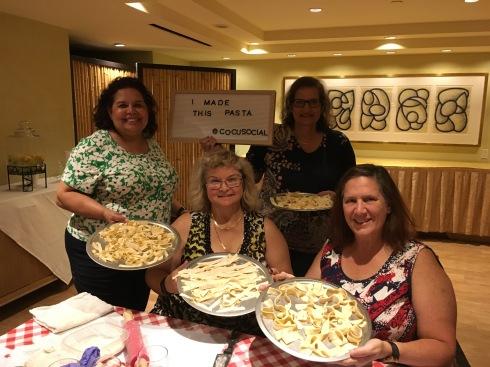 Homemade pasta class, Hotel Amarano Burbank, CA